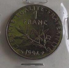1 franc semeuse 1994 abeille : SUP : pièce de monnaie française