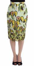 NWT Lanre Da Silva Ajayi Multicolor Organza Pencil Skirt Straight UK 8/US 6