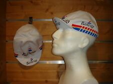 Rennrad Cap Banesto Vintage Cap Singlespeed Fixie Mütze weiß