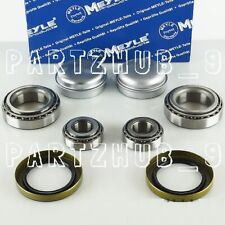 Set of 2 Meyle Front Wheel Bearing Kits For Mercedes W211 W219 W230