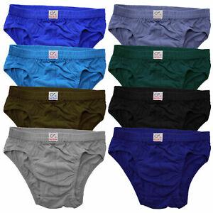 9x 12x 15x Herren Slips 100% Baumwolle Unterhose Men Slip Männer Unterwäsche