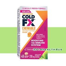 Cold-FX Chewable 200mg - Orange - 45 chewable tablets