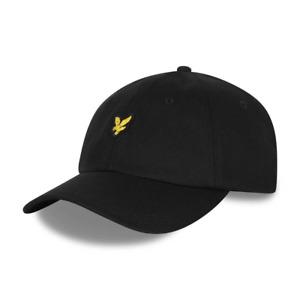 Lyle & Scott Mens Baseball Cap Hat True Black One Size