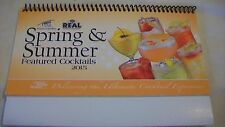 Finest Call Spring & Summer 2015 Cocktail Recipe Collection Book Spiral Bound