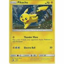 Pikachu SM81 Holo Pokemon Promo Card (Shining Legends Promo)