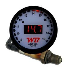 APSX D2 Wideband O2 Air Fuel Ratio Controller Gauge Kit (White-Red)