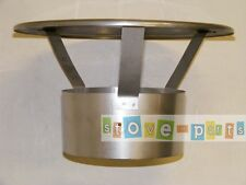 "6"" Stainless Steel Flexible Flue Liner Rainhat Top Cowl"