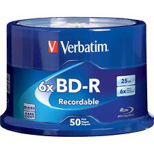 Verbatim Blu-Ray BD-R 98397 25GB 6 X 50 Pack Spindle