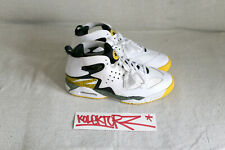 NIKE AIR TECH CHALLENGE HUARACHE 9.5US 43 TOUR YELLOW QS TZ ATCH RARE LTD NEW