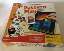 Small Word Toys,Board Game: learning - pattern play mosaic pictures.