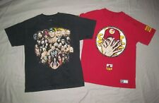 WWE & John Cena You Can't See Me Men's M Med Lot 2 pc WWE wrestling T shirts