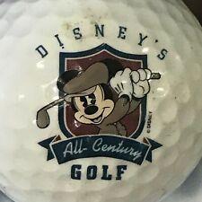 Vintage Disney's All Century Mickey Mouse Logo Golf Ball (G-12-8)