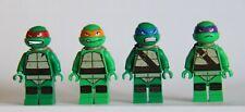 LEGO® Teenage Mutant Ninja Turtles™ Set of 4 TMNT Turtles - Donatello Leonardo