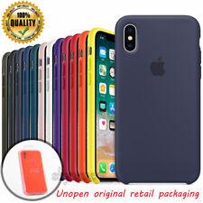 Ultra Thin Genuine Original Silikontasche Case für Apple iPhone X XR 8 7 6S Plus