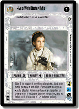 Leia With Blaster Rifle FOIL [Near Mint/Mint] REFLECTIONS II star wars ccg swccg
