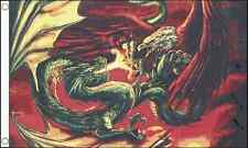 Dragon vs Eagle 5'x3' Flag Mythical Fantasy Festival