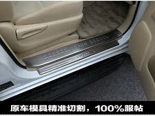 8PCS Stainless Steel Door Sill Plate Cover For 10-2015 Land Cruiser FJ150 Prado