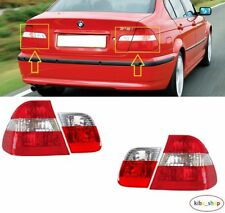 BMW 3 E46 (SALOON) 2001 - 2005 REAR TAIL LIGHT LAMPS OUTTER + INNER LEFT + RIGHT