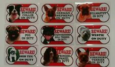 Beware of the dog sign 12cm x 21cm check out my other signs