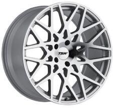17x8 TSW Vale 5x108 Rims +40 Silver Wheels (Set of 4)