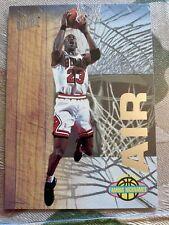 "Michael  Jordan  1993 Fleer ultra famous nicknames ""AIR"""