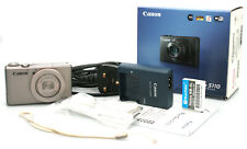Canon Powershot S110 12.1MP Digital Compact Camera -Boxed w/ Strap, Charger, etc
