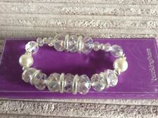 BRIDAL/BRIDESMAID CRYSTAL EFFECT ELASTICATED BRACELET - BOXED