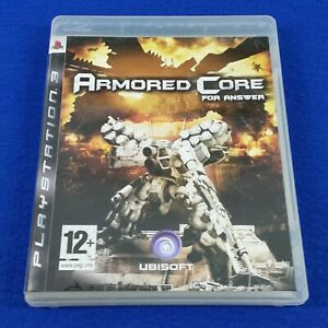 ps3 ARMORED CORE FOR ANSWER Game REGION FREE (Works On NTSC Consoles) PAL UK