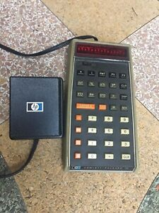 VERY RARE Classic HP-70 Business Calculator with Charger