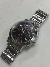 BURBERRY HERITAGE CHRONOGRAPH  BU1391 STAINLESS STEEL WATCH