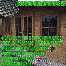 SHED BASE ECO SLAB KIT + HD MEMBRANE 6x4 8x6 10x6 10x8 12x6 12x8 GREENHOUSE BASE
