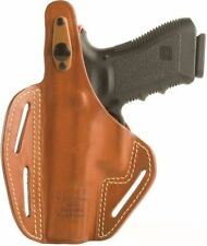 420021BN-L Blackhawk Brown Left Hand Leather Pancake Holster Springfield XDM