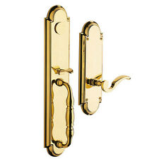 Baldwin Hamilton 6544 003 Rfd Polished Brass Dummy Handleset Trim Lifetime Lever