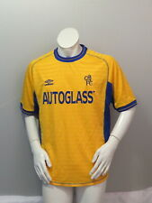 Chelsea FC Jersey (Retro) - 2000 Away Jersey by Umbro - Men's Large