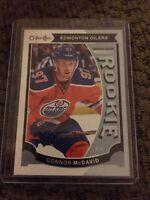 15/16 UD O-Pee-Chee Update Maquee Rookie #U11 Connor Mcdavid Edmonton Oilers