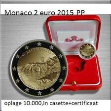 """Monaco 2 euro 2015 PP """"800 Jahre Bau des Schlosses""""auflage 10.000(m15)"""