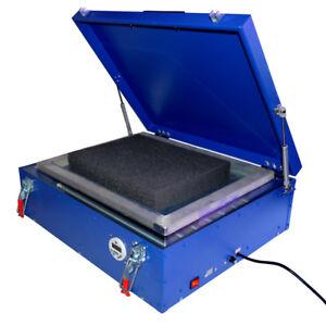 UV Exposure Unit 21x25'' Silk Screen Printing LED Light Box Plate Burning 110V