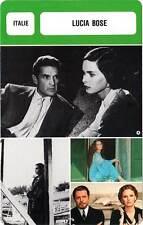 FICHE CINEMA :  LUCIA BOSE -  Italie (Biographie/Filmographie)