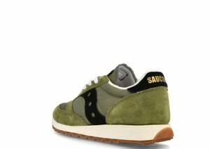 Saucony Jazz Original Vintage Green Mens Trainers Size UK 9  *MRS31