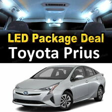 8x White LED Lights Interior Package Deal For 2004 - 2009 2010 2011 Toyota Prius