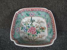 CHINESE ROSE MEDALLION MANDARIN PORCELAIN BOWL, GREAT ENAMEL PAINT DECORATED