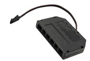 Mini AMP 6-Fach Verteiler 12V mit Ministecker für LED Lampen - Möbelleuchten