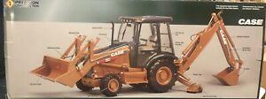 Ertl Case 580 Super M Backhoe Loader 1:16 Precision Construction Series #14132