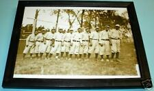 1911 CHICAGO AMERICANS NEGRO LEAGUE TEAM FRAMED PRINT