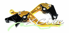 Gold adjustable levers for CBR250RR CBR250R Hornet #LV005#