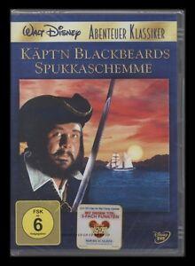 DVD WALT DISNEY - KÄPT'N BLACKBEARDS SPUKKASCHEMME - ABENTEUER KLASSIKER * NEU *