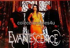 POSTER  EVANESCENCE  11x16 amy lee                  the open door  what you want