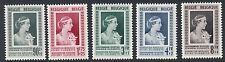 BELGIUM : 1951 Queen Elizabeth Medical Foundation Fund set SG 1376-80 MNH