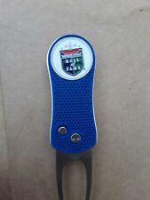 Ahead Pitchfix Divot Tool & World Golf Hall of Fame Ball Marker Blue & Silver