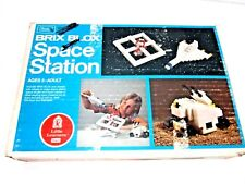 VINTAGE 1970'S SEARS BRIX BLOX SPACE STATION BUILDING BLOCKS TOY IN BOX